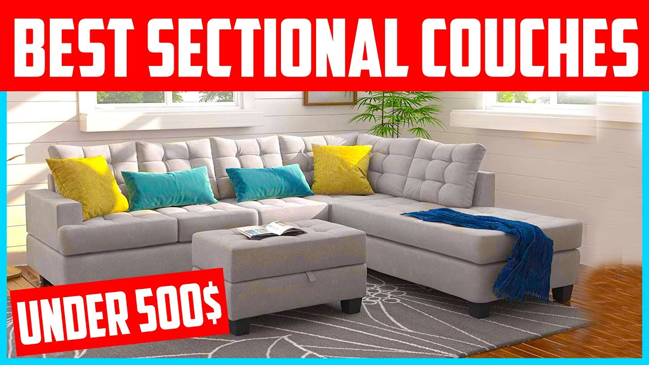 Top 5 Best Sectional Couches Under 500 2020 Reviews Youtube