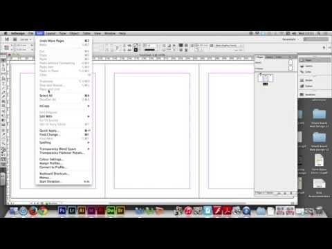 Project 04/02 - Creating A DVD Cover Template In Adobe InDesign