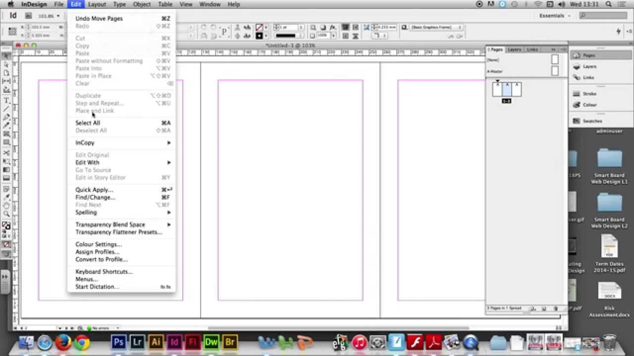 Project 04/02 - Creating a DVD cover template in Adobe InDesign ...