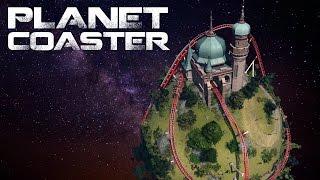 Planet Coaster - Gambit (Part 1) - GCI Wooden Coaster (Timelapse + POV)