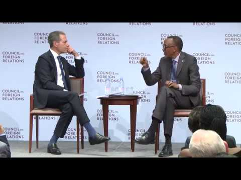 Council on Foreign Relations: a Conversation With President