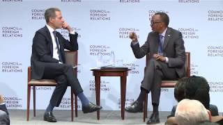 Council on Foreign Relations: a Conversation With President Kagame | New York, 19 September 2017