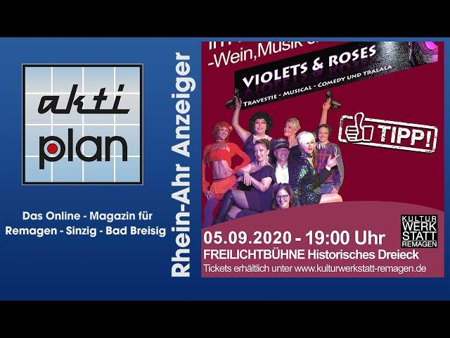 Violets & Roses in der Kulturwerkstatt Remagen