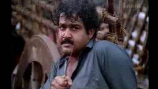 BEST CLIMAX IN INDIAN CINEMA  LEGEND MOHANLAL IN KIREEDOM