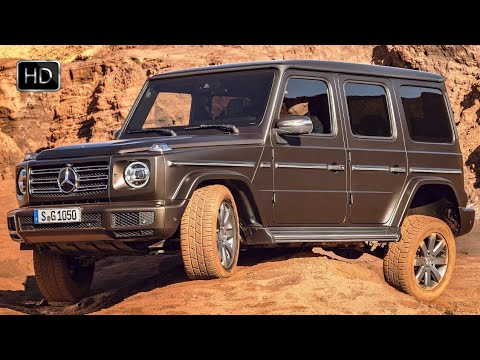 2019 Mercedes-Benz G-Class G550 SUV 422HP Design & OFF ROAD Driving Footage HD