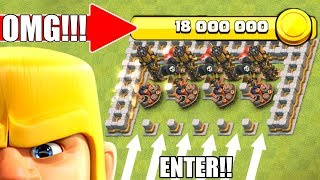 DON'T STEAL MY LOOT!!...IT'S A TRAP!! - Clash Of Clans - ENORMOUS LOOT STORAGE!