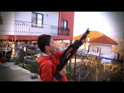 Albanian picknick. WITH GUNS !!! /KID WITH GUN / RULE OF THE GUN / ALBANIAN PICNICK WITH GUNS mafia