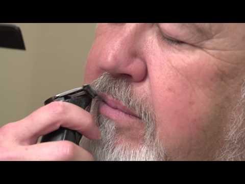 how-to-trim-mens-beard-and-eyebrows-//-santa-gets-a-trim
