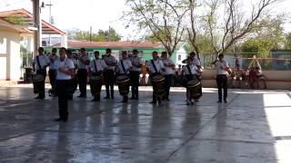banda de guerra toros marcha libre matamoros tamaulipas mexico exhibición   2014 02 21