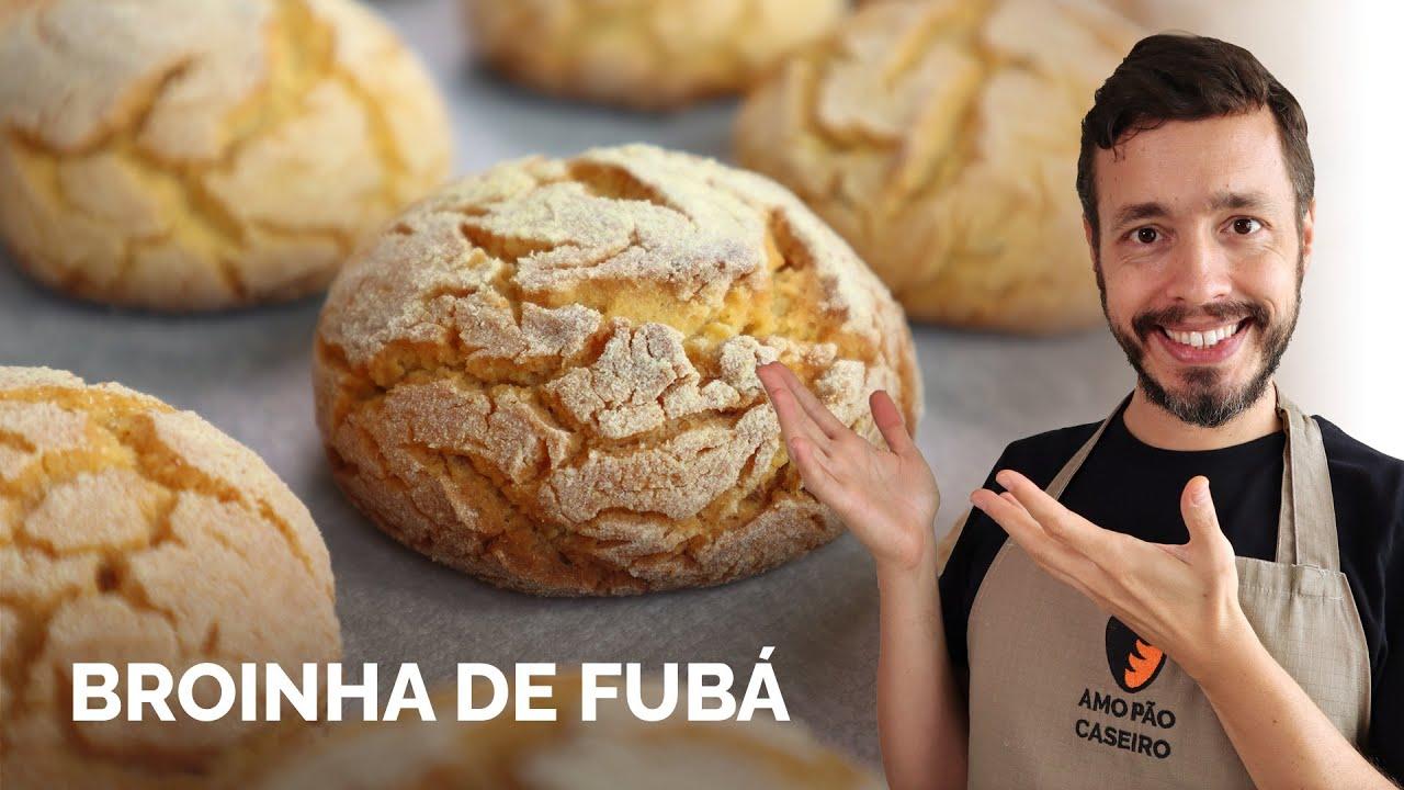 BROINHA DE FUBÁ: Receita rápida, sem glúten e deliciosa