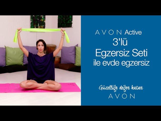3'lü Egzersiz Seti İle Evde Egzersiz