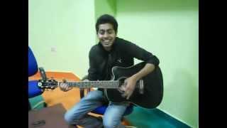 Gulaabi Aankhein (acoustic version) by Ashish singh Abraham