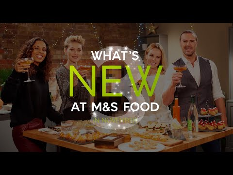 M&S | Episode 3: What's New at M&S FOOD in November | #MyMarksFave