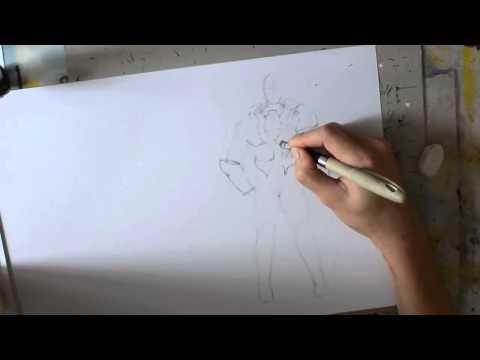 Comment dessiner: projet BD (part2)