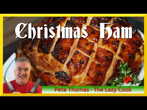 How To Cook A Christmas Festive Ham - Honey And Mustard Glazed