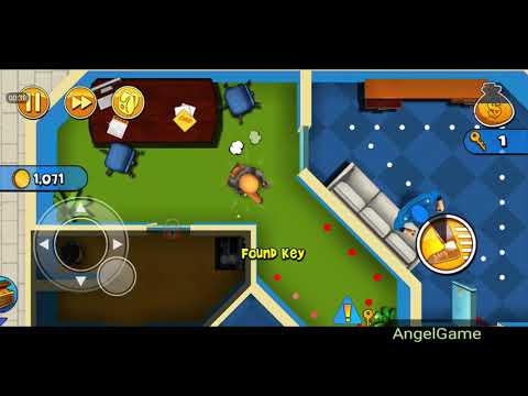 Robbery Bob - Bonus Chapter (Challenge) Level 6 Gameplay Video