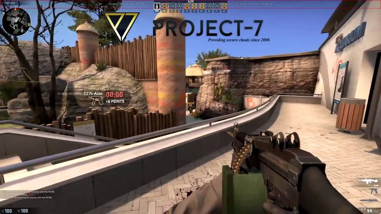 Project-7 CSGO Cheats - EvoFREE v3 5