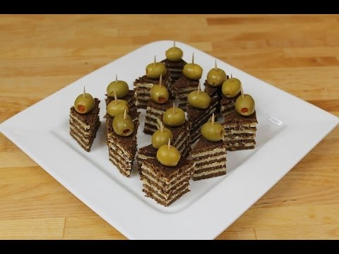 party snacks 2 pumpernickel gouda ecken youtube. Black Bedroom Furniture Sets. Home Design Ideas