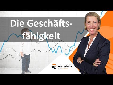 Geschäftsfähigkeit BGB ► juracademy.de