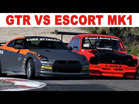 Nissan GTR VS Ford Escort RS Mk1
