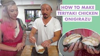 How to Make Teriyaki Chicken Onigirazu