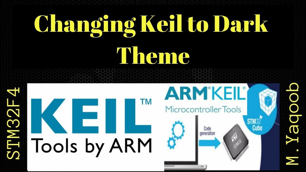 Keil Dark Theme with English subtitles (closed captions) and