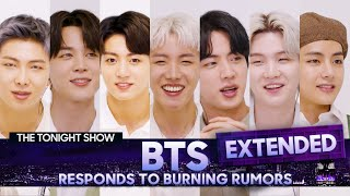 Bts Responds To Rumors About Their Fan Base And Potential Stage Names Extended The Tonight Show MP3