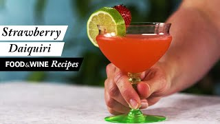 Strawberry Daiquiri | Summer Cocktails