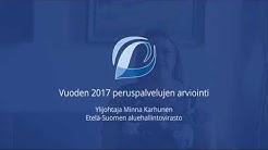 Vuoden 2017 peruspalvelujen  arviointi - Etelä-Suomen AVI