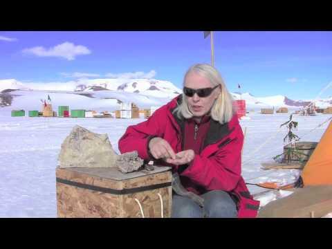 Sampling Ancient Plant Spores & Pollen - Antarctica Video Report 8
