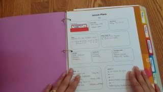 My homeschool binder