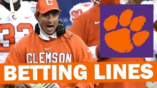 Early Clemson 2021 Betting Lines & Leans