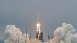 Cohete chino descontrolado caería este sábado a la Tierra