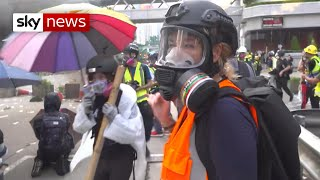 Live rounds reportedly fired in Hong Kong protests