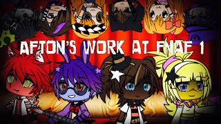 The Afton Family Works At FNAF 1 / FNAF