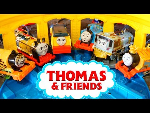 Thomas Trackmaster Adventure Finding NEW Friends Rebecca Merlin Hurricane Push Along Diecasts