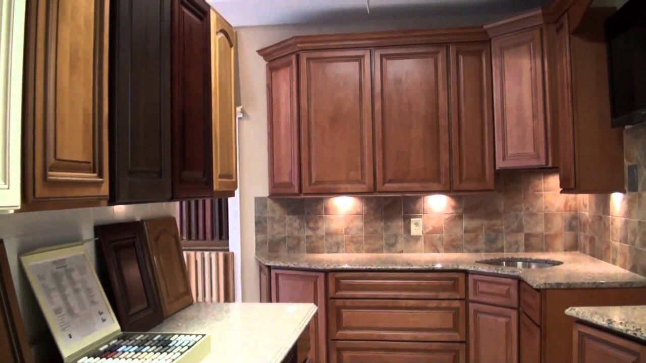 Red Kitchen Countertops How To Refinish Stained Wood Cabinets & Bathroom Remodeling | Design Point ...