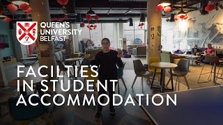 Facilities in City Centre Accommodation - Elms BT1