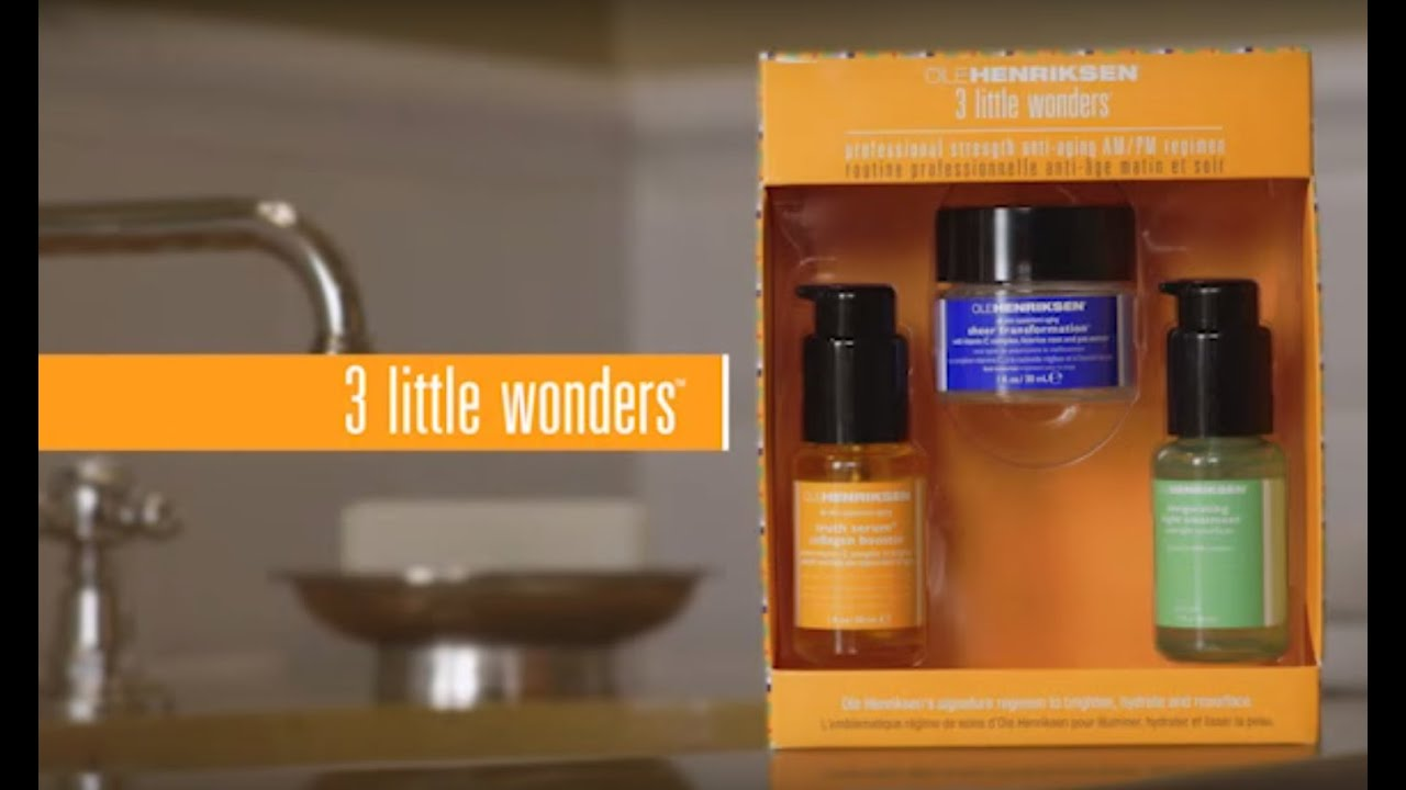 The 3 Little Wonders Skincare Set by Ole Henriksen | Sephora - YouTube