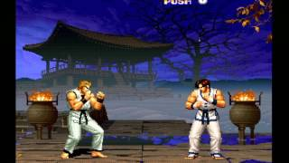 SNK Arcade Classics Vol. 1  Nintendo Wii the king of fighters 94 (longplay)
