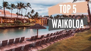 Top 5 Reasons to Stay at the Hilton Waikoloa Village in Hawaii (Plus...Don't Make This Mistake!)