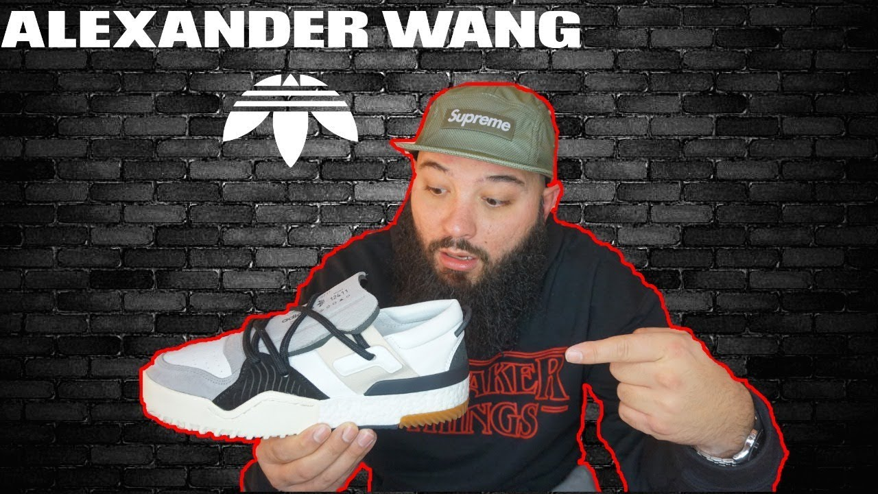 wholesale dealer 5c091 eaec1 ALEXANDER WANG x ADIDAS AW BBALL LO UNBOXING AND REVIEW!!!