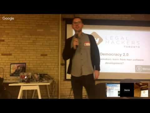 Legal Hackers, Toronto: Democracy 2.0