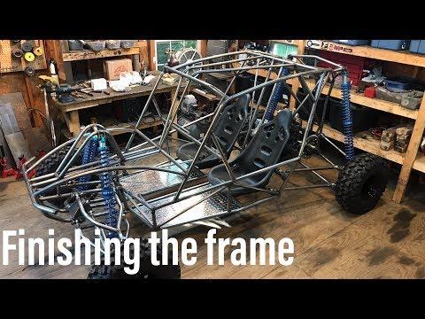 Honda VF 1100 buggy build part 10
