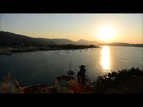 Poros island (Greece) timelapse video