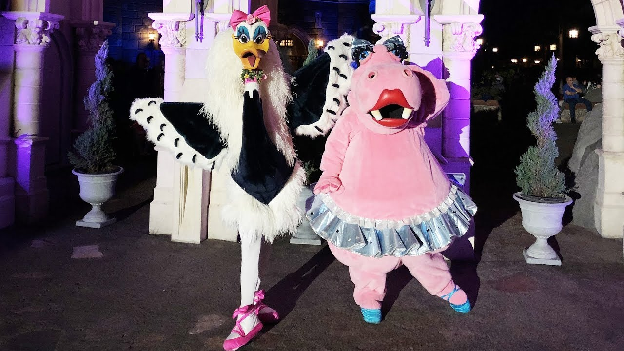"Hyacinth Hippo & Madame Upanova Ostrich From ""Fantasia"