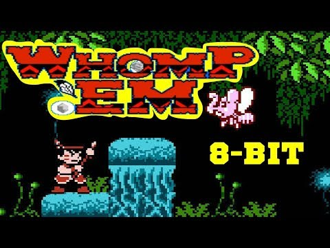 Saiyuuki World 2 | Whomp 'Em прохождение (U) | Игра на (Dendy, Nes, Famicom, 8 Bit) Стрим RUS