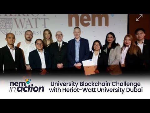 NEM in Action: University Blockchain Challenge with Heriot-Watt University Dubai