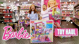 2018 Barbie Holiday Haul At The Mattel Toy Store | Barbie