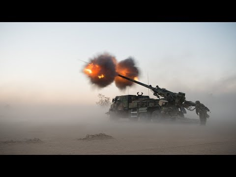 Ultra Powerful European Artillery in Action - CAESAR, PZH 2000, M270 MLRS, 120mm Mortar Live Fire